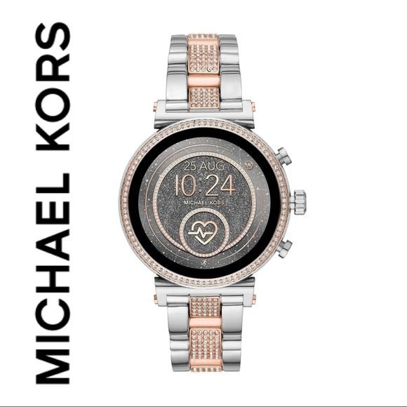 Michael Kors Access Gen 4 Sofie Rose Gold Watch